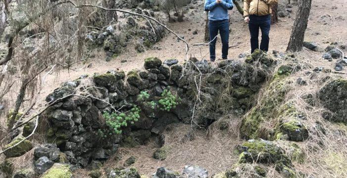 Rehabilitación del poblado de cabañas del Lomo de Las Casas, cerca del Refugio de El Pilar