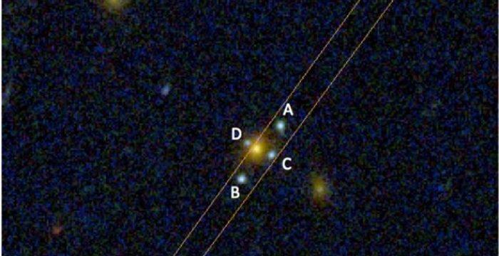El Gran Telescopio Canarias descubre una nueva Cruz de Einstein