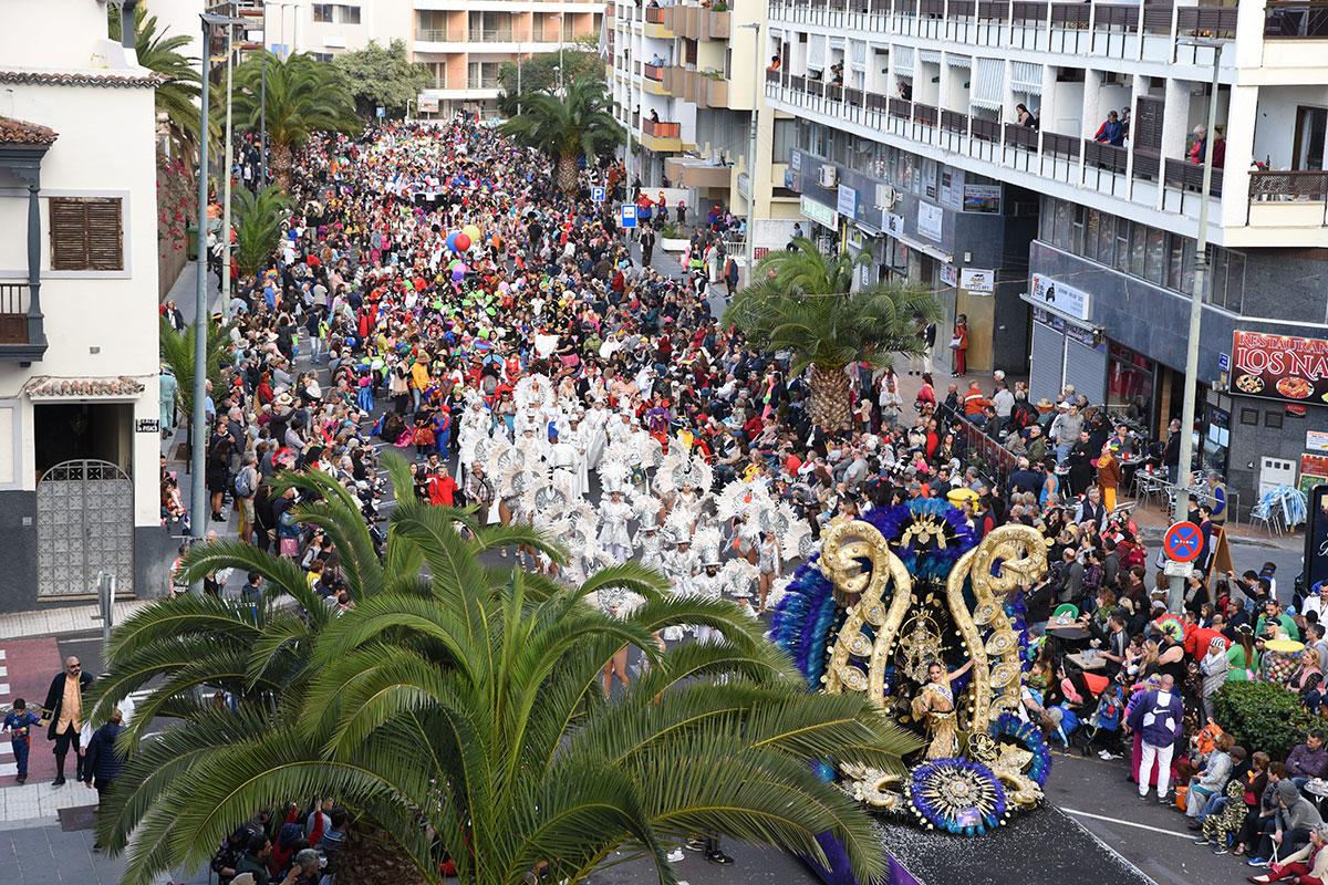 PUERTO DE LA CRUZ COSO CARNAVAL 2019 1