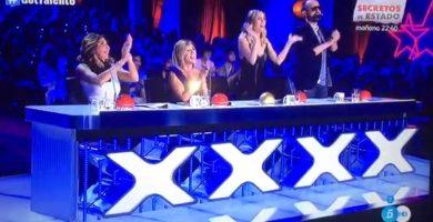 Risto se rinde a los chicharreros Zeta Zetas que pasan a las 'semis' de Got Talent