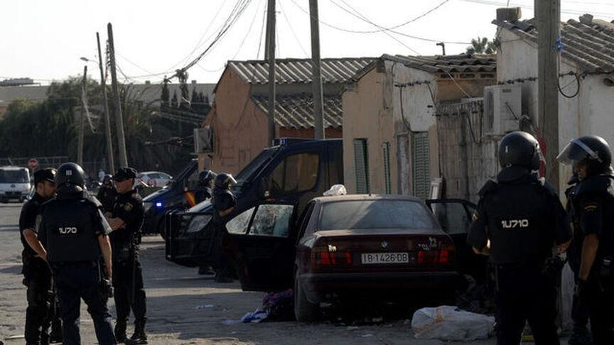 El acusado fue a pillar cocaína al poblado de Son Banya. / El Español