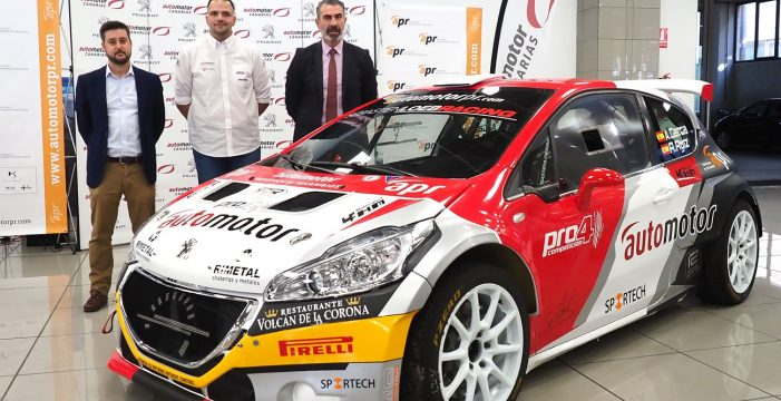 Automotor Canarias respalda a Adrián García en el Regional de Rallys