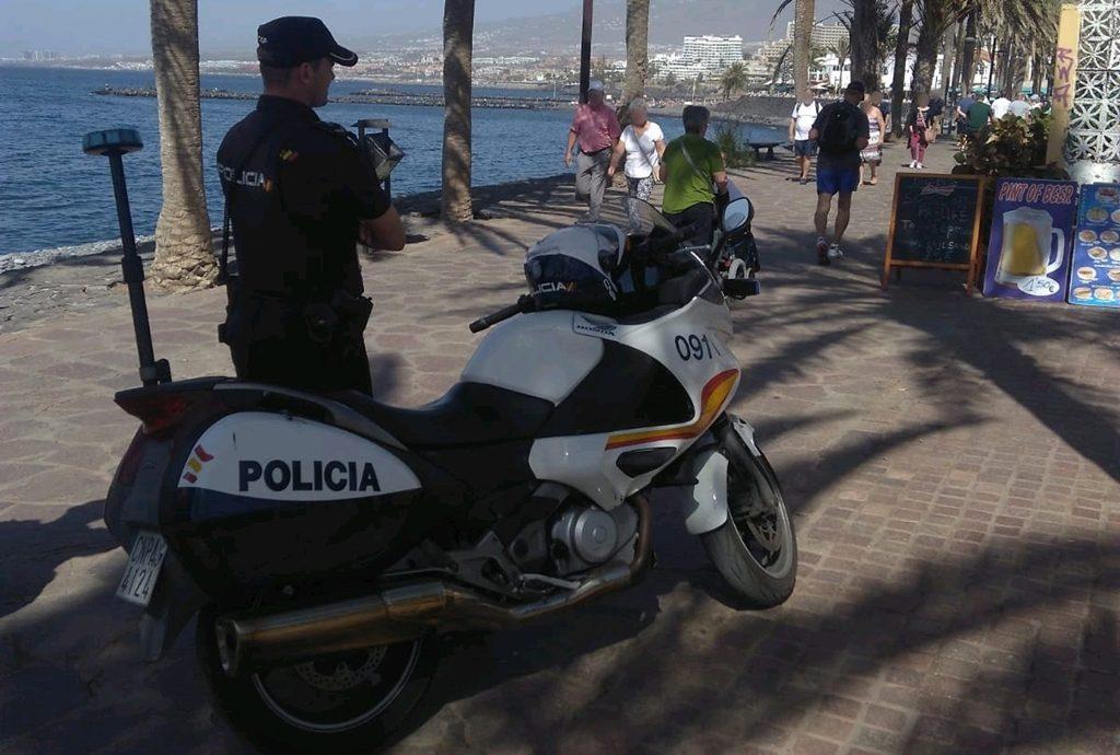 Policía Nacional en Arona| DA