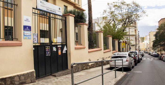 Las goteras impiden dar clase en varias aulas del CEIP Salamanca