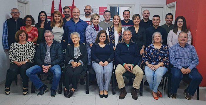 El PSOE apuesta en Candelaria por continuidad e independientes