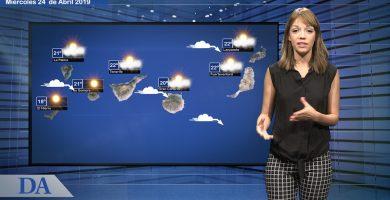La previsión del tiempo en Canarias para el miércoles, 24 de abril