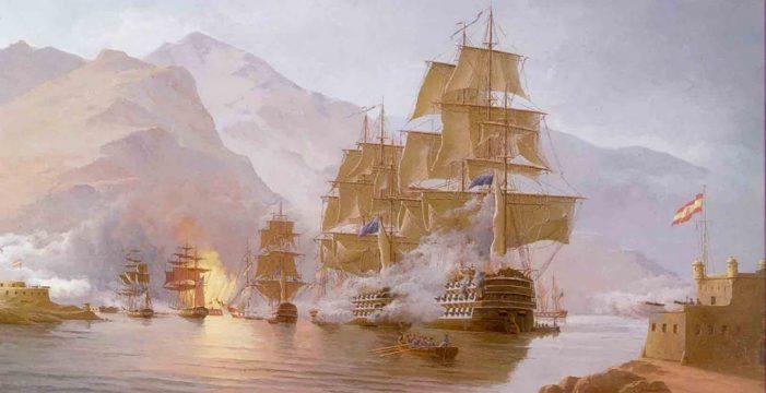 El buque de Nelson, entre los pecios aún sumergidos bajo las aguas canarias