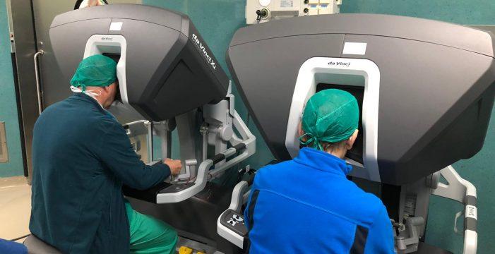 La Candelaria pone en marcha el programa de cirugía robótica Da Vinci