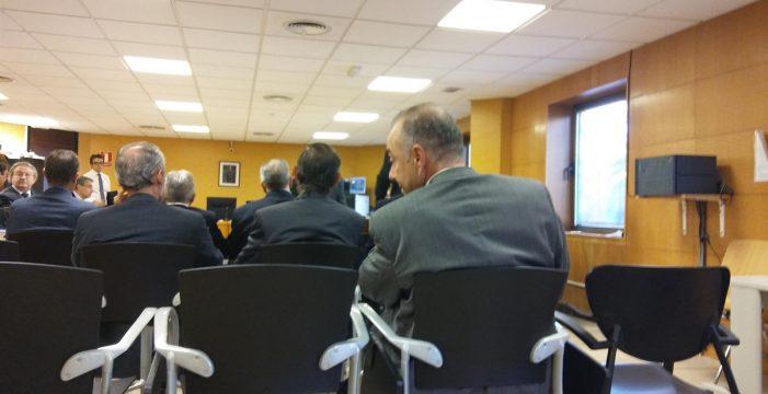 Zerolo entra voluntariamente en prisión, en un coche familiar, para cumplir condena por el 'caso Las Teresitas'
