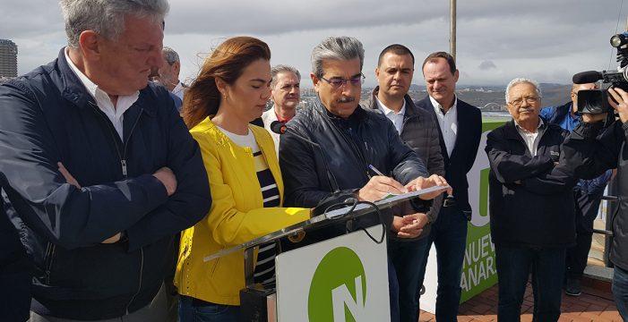 """NC presenta un """"Manifiesto por Canarias"""" y valora la marcha de la campaña"""