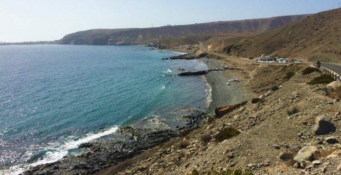 Llega una patera con 20 personas a la costa de San Bartolomé de Tirajana (Gran Canaria)