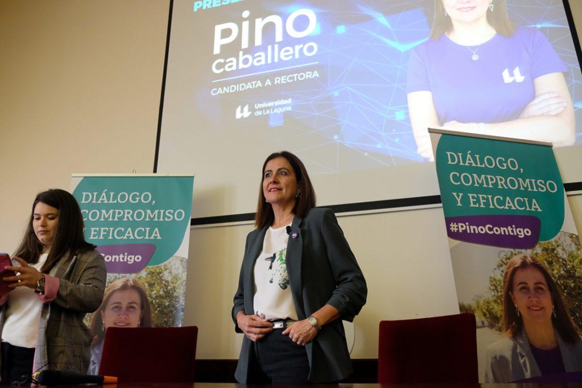 Presentación candidatura Pino Caballero Gil a rectora de la Universidad de La Laguna. |Fran Pallero