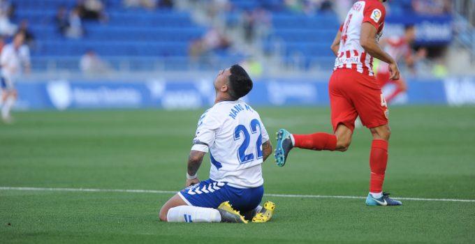 El Tenerife cae ante el Almería (1-3) y se queda a tres puntos del abismo