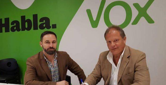 """Sigfrid Soria (Vox) abandona la vida política por razones """"profesionales"""""""