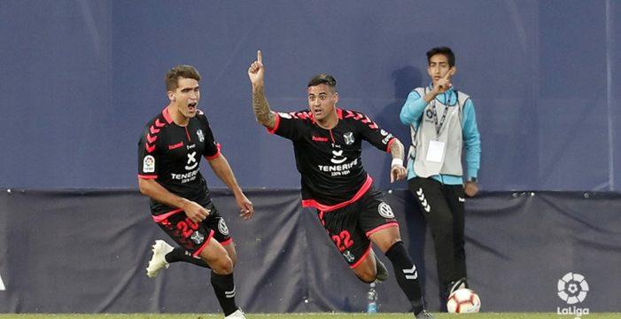 Un año después, el Tenerife vuelve a ganar fuera de casa (1-3)