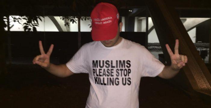 """Milo, 19 años, asistente al mitin de Vox en Santa Cruz: """"El Islam es una verdadera amenaza a las libertades"""""""