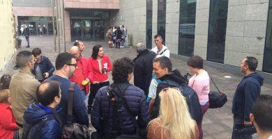 El presidente regional evita a la prensa llegando 2 horas antes para declarar como imputado