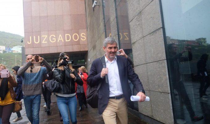 La fiscal entiende que, sin los decretos de Clavijo, no habría caso Grúas