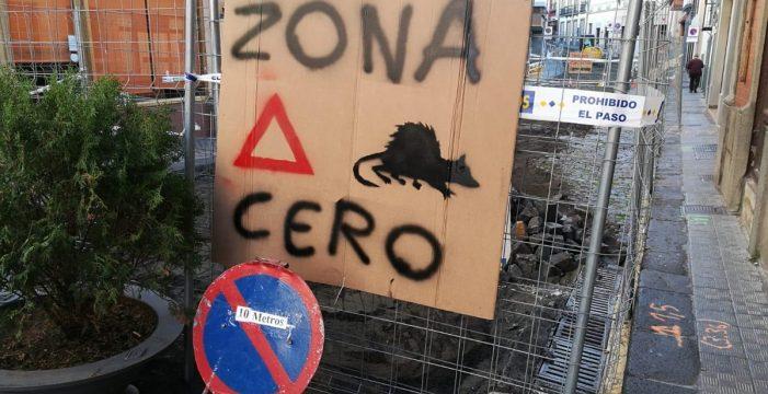 La Alameda de Santa Cruz de La Palma amanece con una plaga de ratas