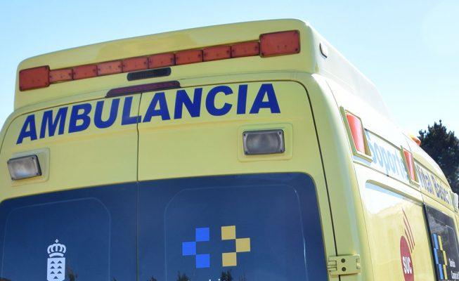 Dos hombres resultan heridos en un atropello en Santa Cruz
