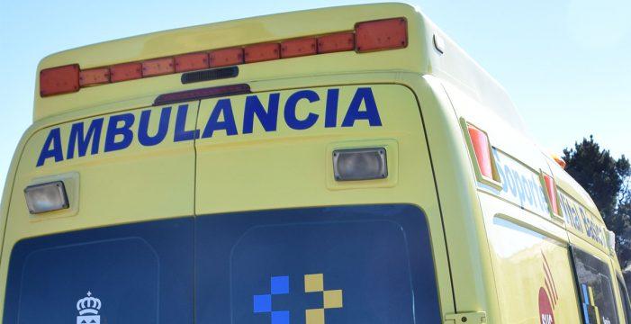 Herido grave al volcar el tractor con el que trabajaba en La Laguna