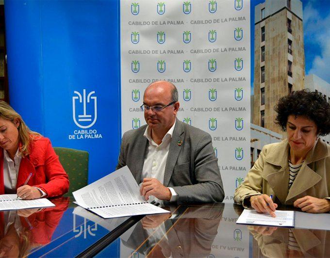 El Cabildo de La Palma otorga una ayuda de 15.000 euros a la Asociación Parkitfe