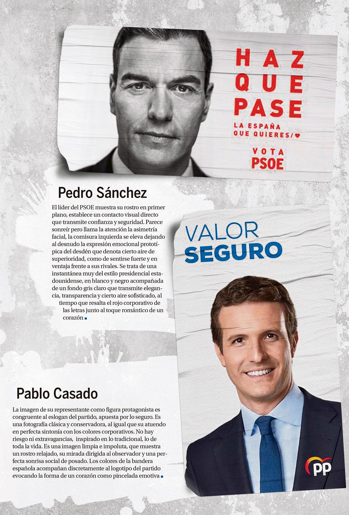 carteles electorales. DA