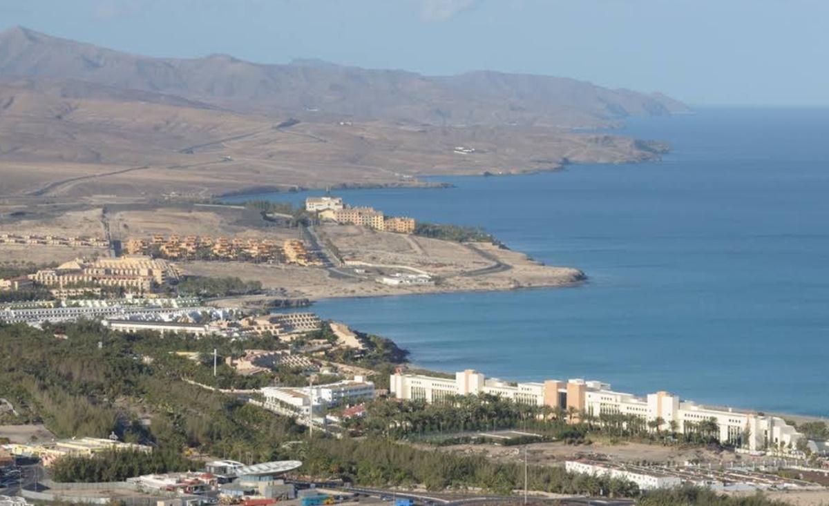 Costa Calma. Google Maps
