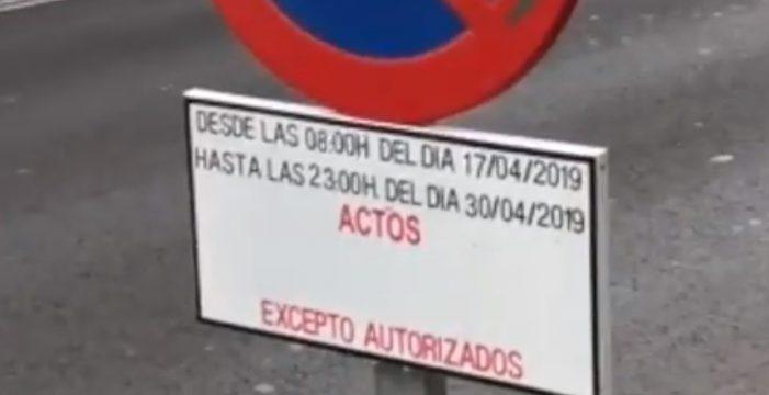 """El PSOE, sobre las plazas de aparcamiento de CC en la Avenida de Anaga: """"Vuelven a confundir las instituciones con su partido"""""""