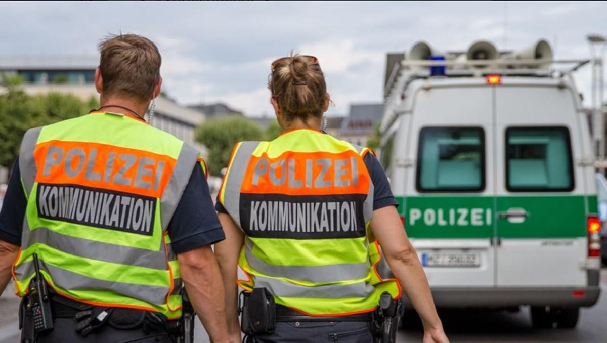 Policía de Mainz. Twitter