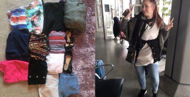 Se pone 4 kg de ropa para evitar pagar por exceso de equipaje en un vuelo a Canarias