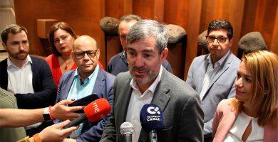 """Clavijo considera un """"fraude"""" que los candidatos a presidir Canarias no encabecen la lista regional"""