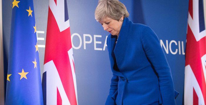 Los líderes de la UE ofrecen a May retrasar el Brexit hasta el 31 octubre