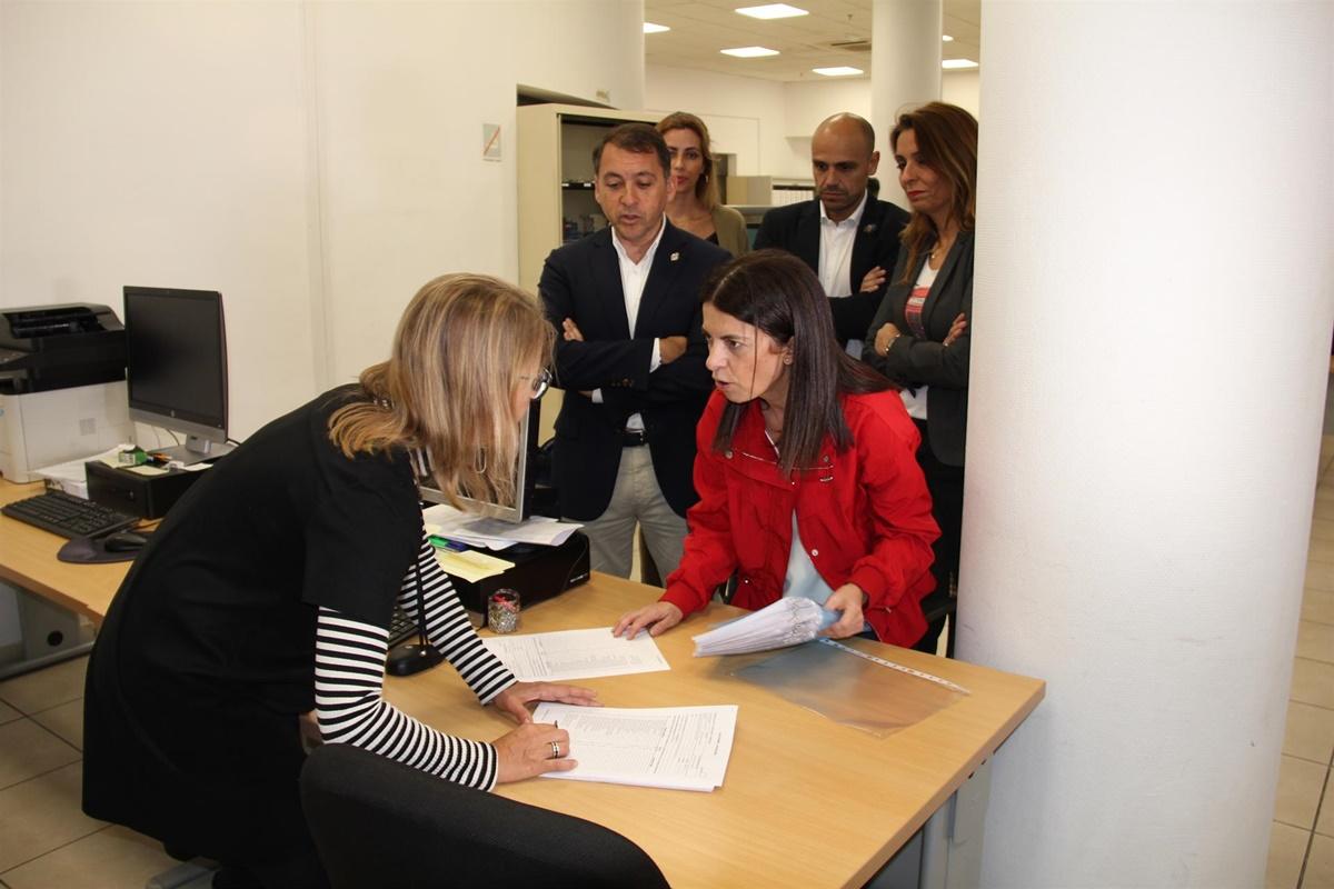 Bermúdez ha presentado la lista de personas con la que concurrirá a las elecciones de mayo. EP