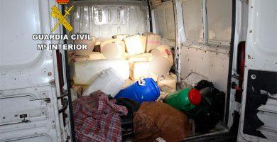 Intervienen una furgoneta con 1.620 kilos de hachís en Gran Canaria
