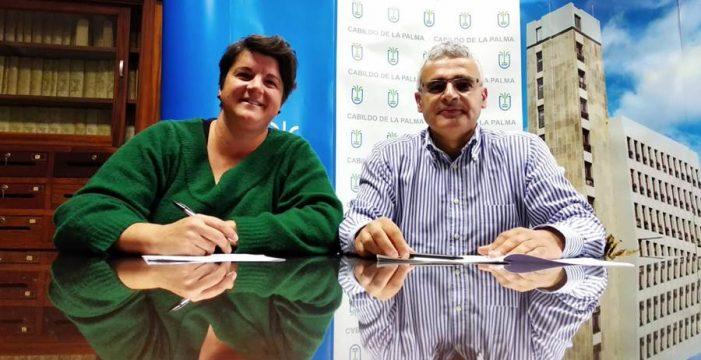 La Fundación Isonorte recicla y convierte en arte la Transvulcania Naviera Armas