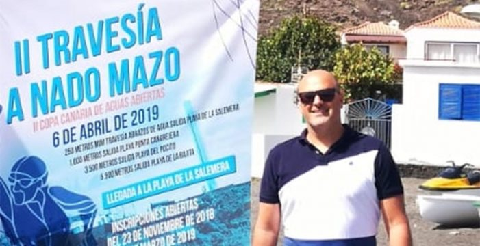 Entrevista a Iván Benítez, organizador de la II edición de la Travesía a Nado Playas de Mazo