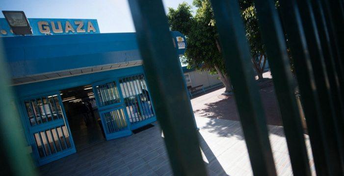 Las lluvias obligan a suspender dos días las clases en el IES Guaza (Arona)