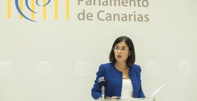 El Parlamento de Canarias celebrará un pleno extraordinario el 7 de mayo