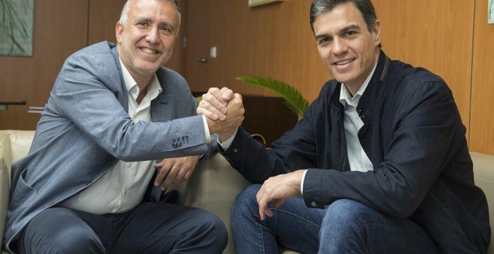 El presidente que sueña con gobiernos socialistas en España y en Canarias
