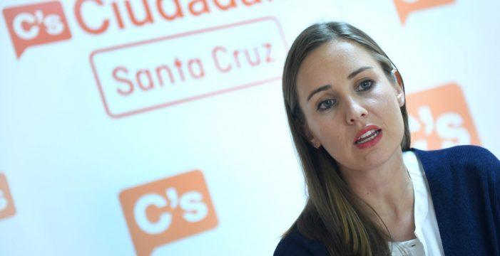 """Melisa Rodríguez: """"Ciudadanos es el único partido con agenda canaria en su programa"""""""
