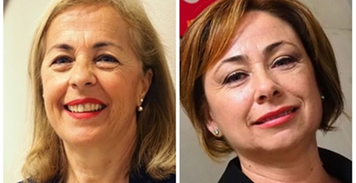 Gloria Rojas y Rosa Aguilar presentan sus candidaturas a la ULL