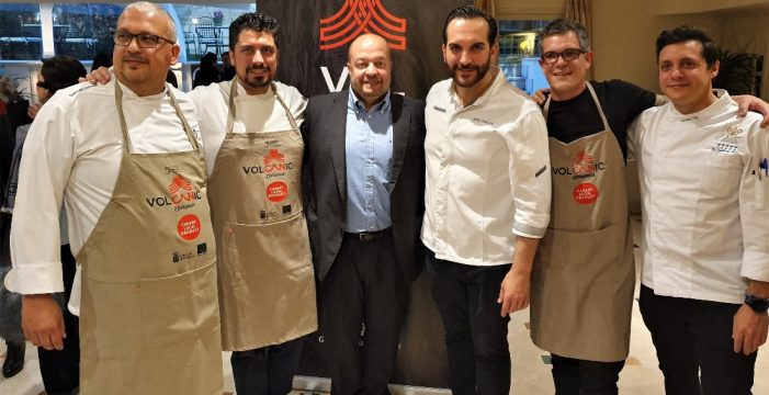 Tres chefs presentan sus nuevas creaciones en un hotel de Madrid