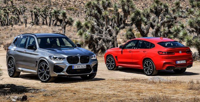 Llegan a España los nuevos BMW X3 M y X4 M y sus versiones aún más deportivas Competition