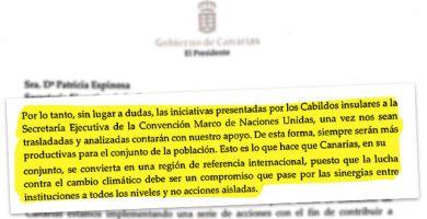 Clavijo boicotea el primer centro de la ONU contra el cambio climático en España