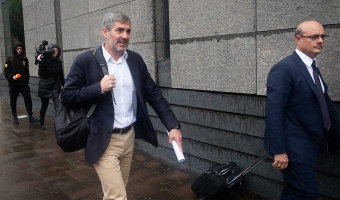 Anticorrupción apela para que declaren varios testigos clave contra Clavijo