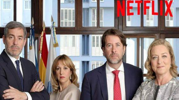 """El Baifo Ilustrado la lía con una foto de CC: """"Netflix compra los derechos para preparar una nueva serie"""""""