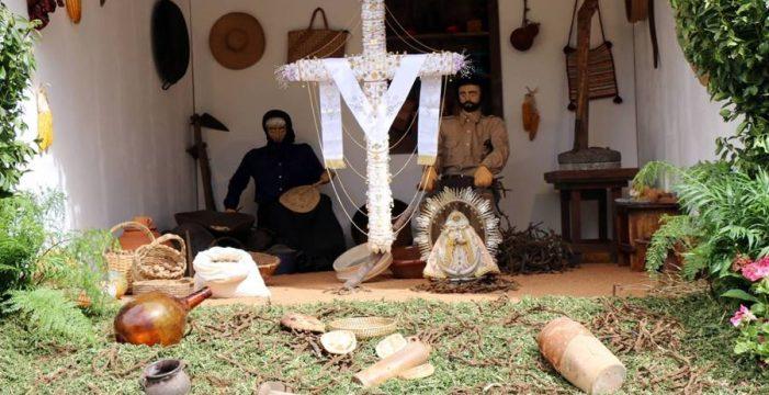 Santa Cruz de la Palma y las Breñas celebran con arte el día de Cruz