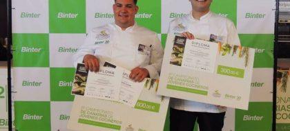 El alumno palmero Daniel Tejera Pérez, mejor chef joven de Canarias