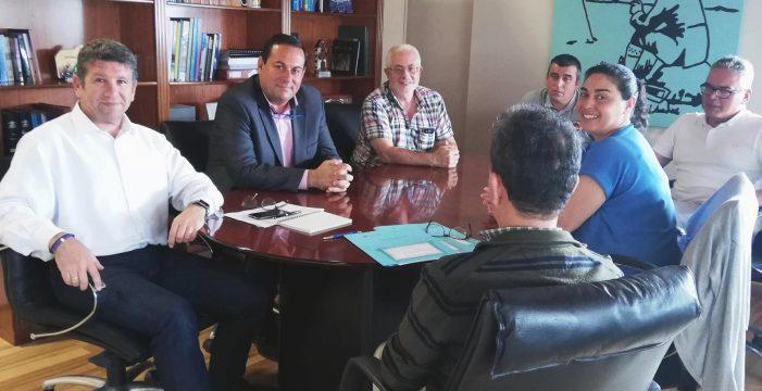 El Gobierno de Canarias inicia la licitación para instalar una grúa en el muelle de Fuencaliente